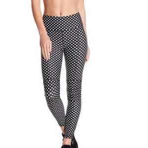 C & C California Print Moto Leggings Small